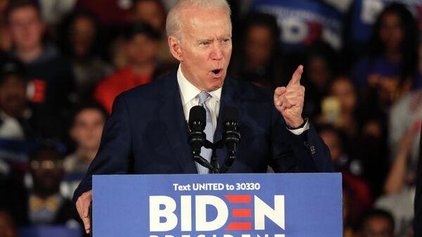 Кандидат в президенты США от Демократической партии и бывший вице-президент Джо Байден