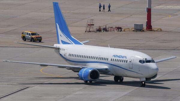 Самолет авиакомпании Армения