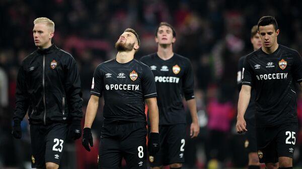 Футболисты московского ЦСКА