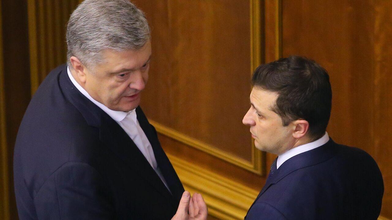 Порошенко сравнил Зеленского с Лукашенко