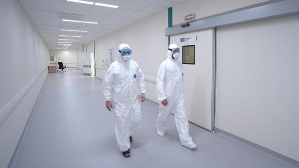 Сотрудники медицинского стационара