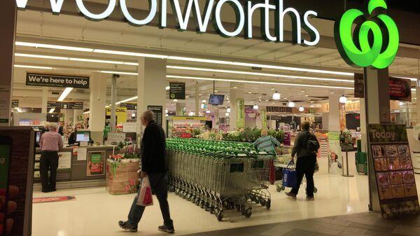 Супермаркет Woolworths в Сиднее, Австралия