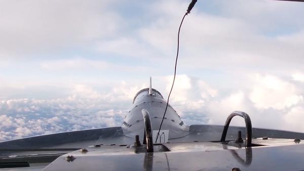 Опубликовано видео полета Ту-142 над Северным Ледовитым океаном