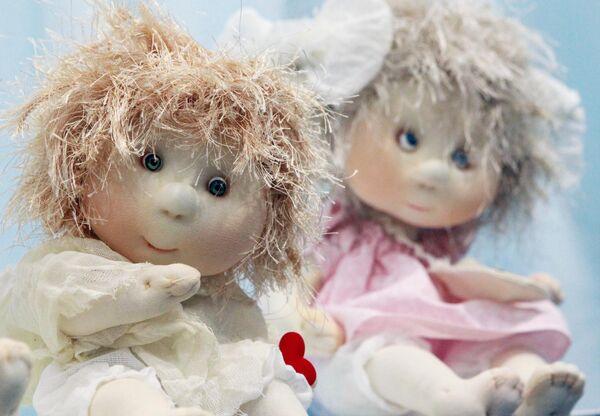 Авторские куклы Ломатенко Инны и Оксаны на международном весеннем балу авторских кукол в выставочно-презентационном комплексе T-Modul в Москве