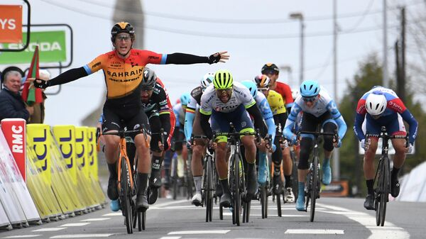 Испанский велогонщик Иван Гарсия Кортина