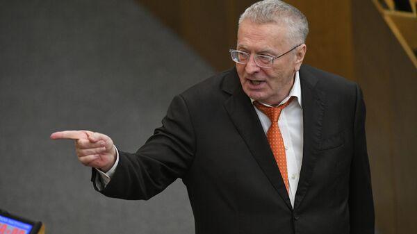 Руководитель фракции ЛДПР в Государственной Думе Владимир Жириновский