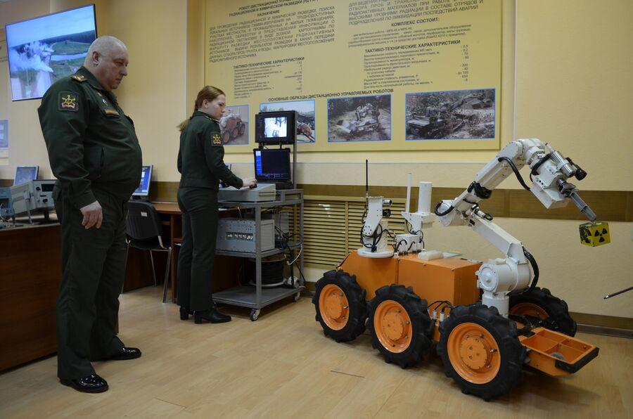 Занятия с роботизированной техникой