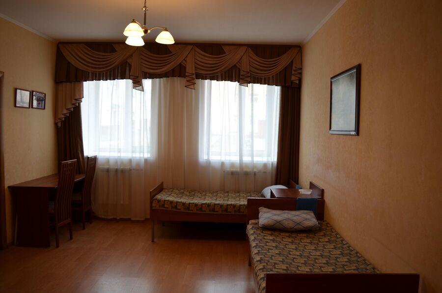 Жилые помещения академии РХБЗ