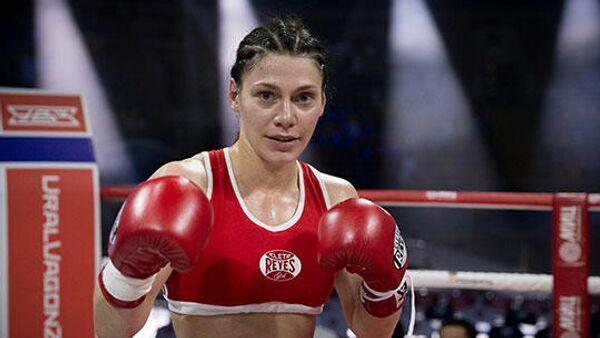 Российский боксер Софья Очигава