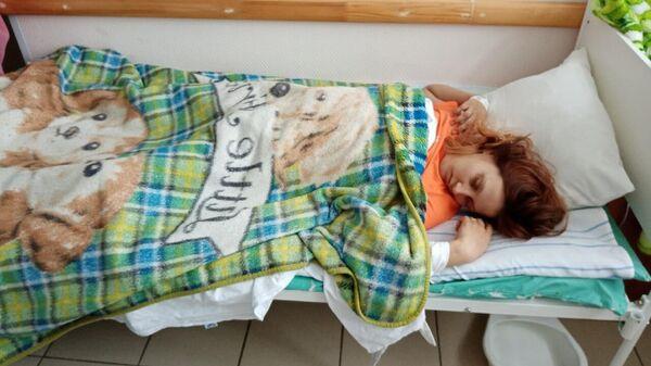 Надежда Богданова в больнице