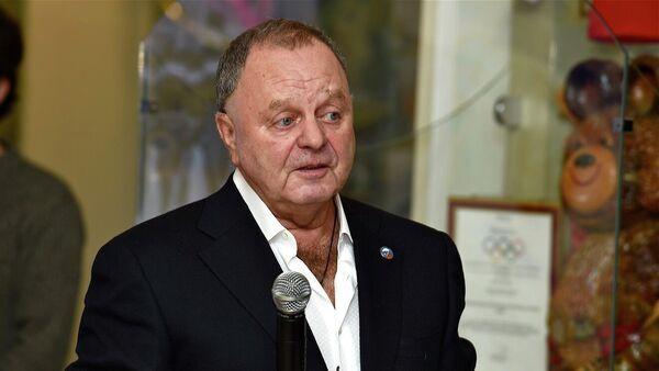 Президент федерации хоккея с мячом России Борис Скрынник