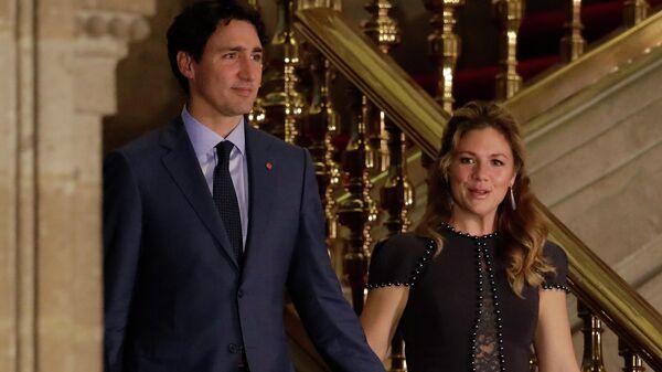 Премьер-министр Канады Джастин Трюдо с супругой Софи