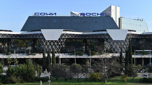 Здание Международного аэропорта Сочи