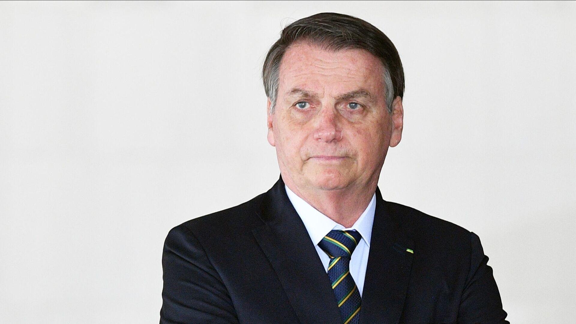 Президент Бразилии Жаир Болсонару - РИА Новости, 1920, 04.11.2020