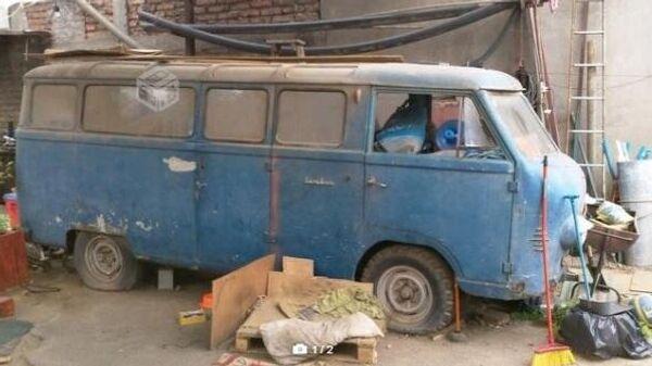 В Чили нашли редчайшую модель советского микроавтобуса