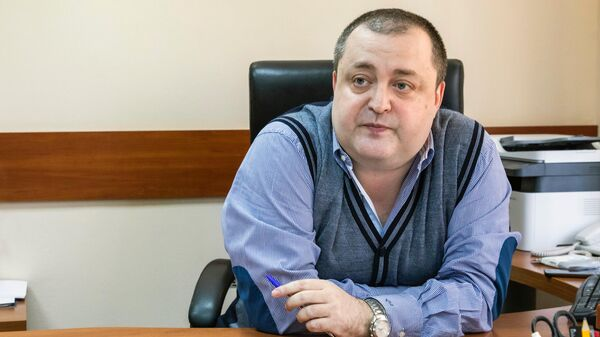 Ректор Академии медиаиндустрии Вячеслав Умановский
