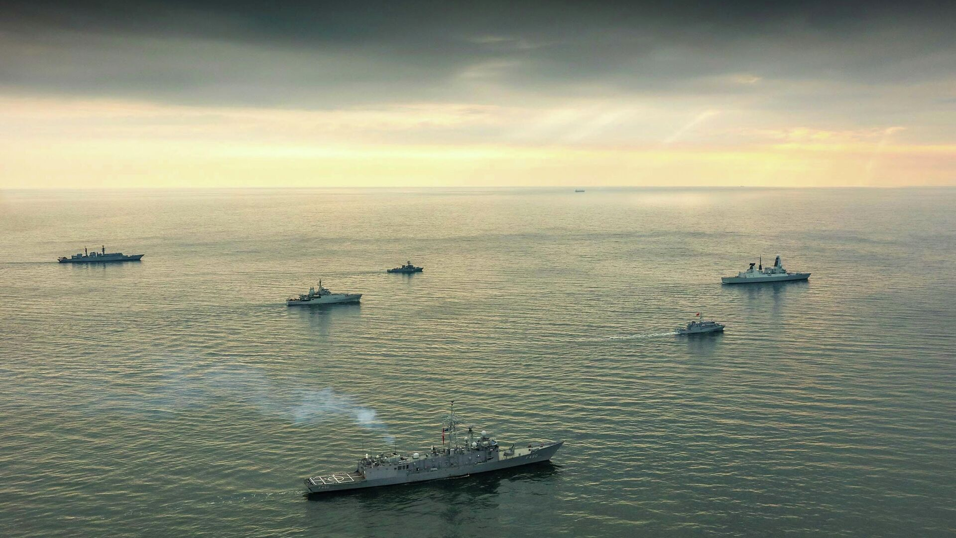 Корабли НАТО в Черном море - РИА Новости, 1920, 24.12.2020