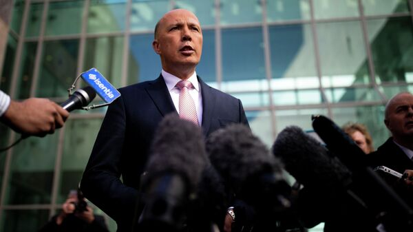 Бывший министр внутренних дел Австралии Питер Даттон
