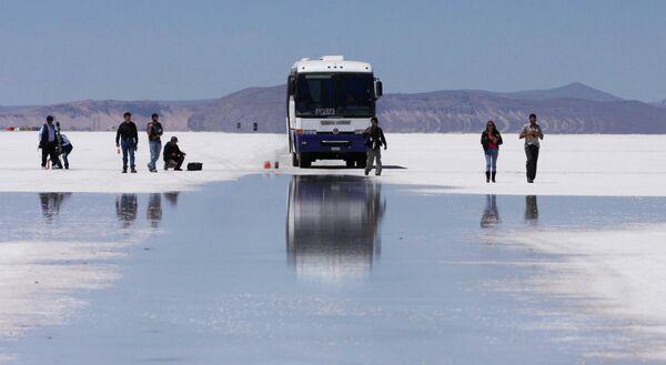 Дорога в Боливии