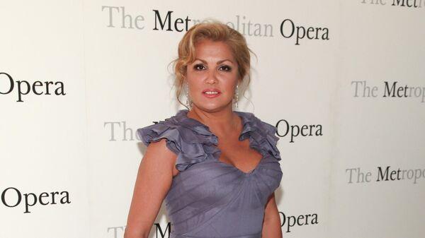 Анна Нетребко в Метрополитен-опере в Нью-Йорке
