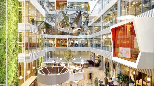 Новая штаб-квартира Сбербанка вблизи Москва-Сити