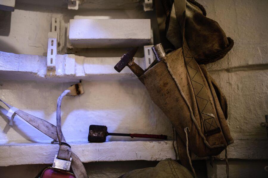 Оборудование для борьбы за живучесть в спасательной камере атомной подводной лодки Северодвинск