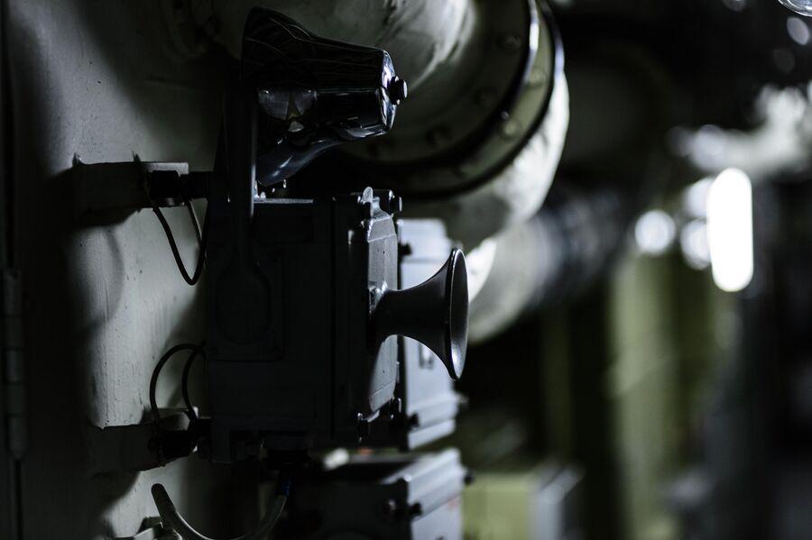 Оборудование в отсеках атомной подводной лодки Северодвинск