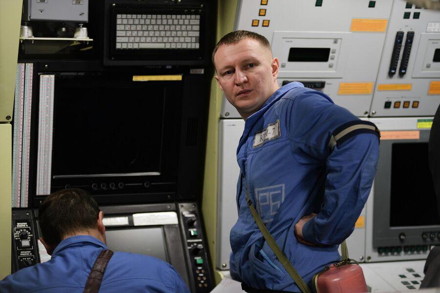 Экипаж атомной подводной лодки Северодвинск