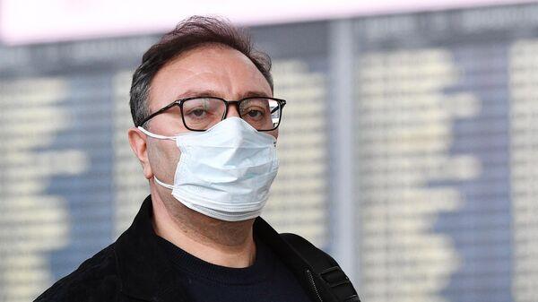 Усиление санитарного контроля в аэропорту Внуково в связи с коронавирусом