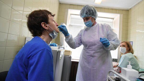 Обследование на коронавирус жителей Владивостока