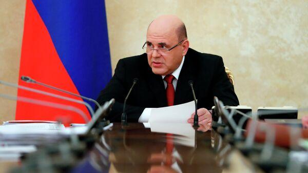Председатель правительства РФ Михаил Мишустин проводит заседание Координационного совета по борьбе с коронавирусной инфекцией