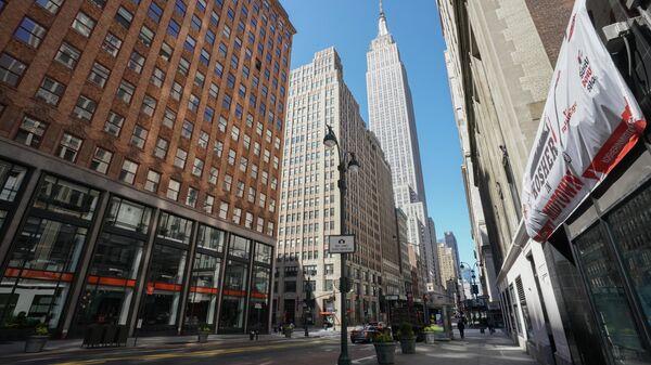 Режим ЧС в связи с коронавирусом в Нью-Йорке