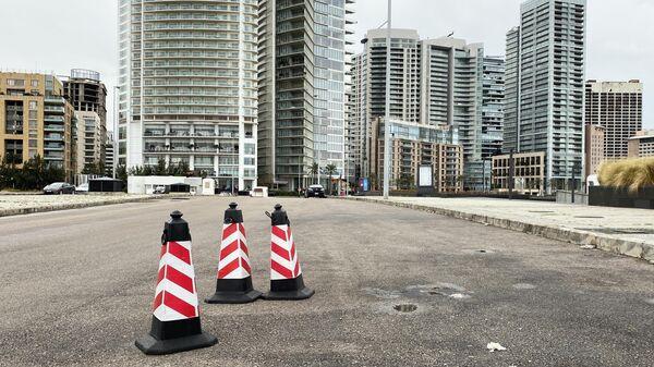 Одна из улиц в Бейруте