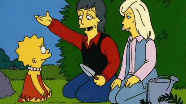 Кадр из мультсериала The Simpsons