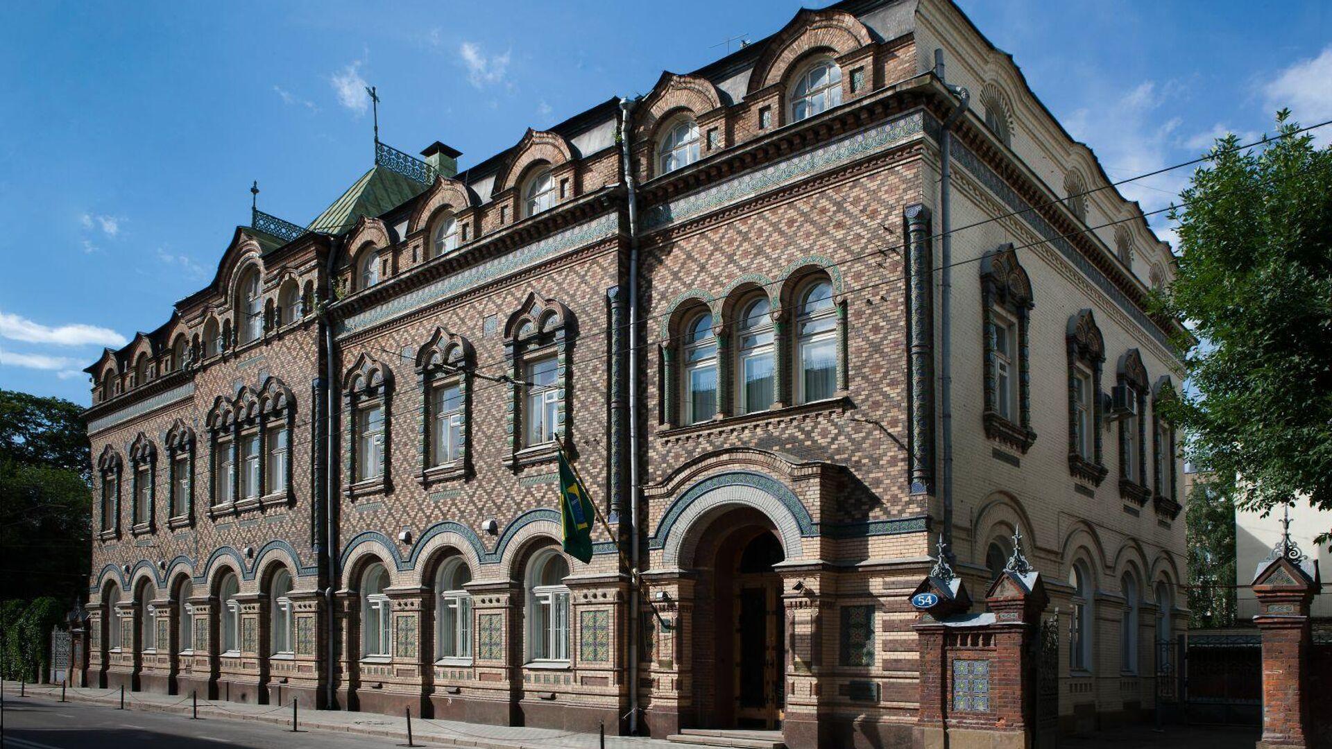 Посольство Бразилии в Москве - РИА Новости, 1920, 10.02.2021