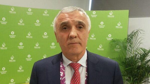 Главный тренер женской сборной России по борьбе Магомед Алиомаров