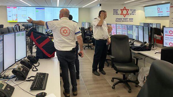 Чрезвычайный штаб скорой помощи, развёрнутый для борьбы с COVID-19, в Израиле