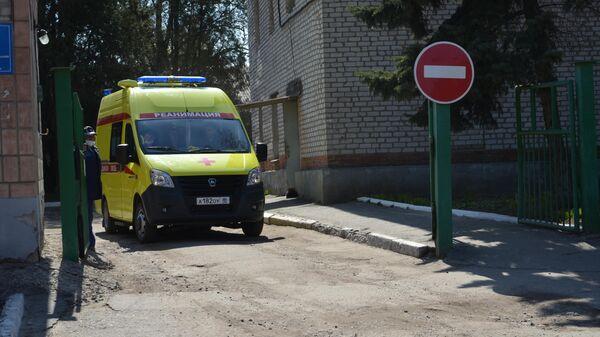 Луганская многопрофильная больница №4, подготовленная к приему и оказанию помощи, в случае поступления зараженных коронавирусной инфекцией COVID-19