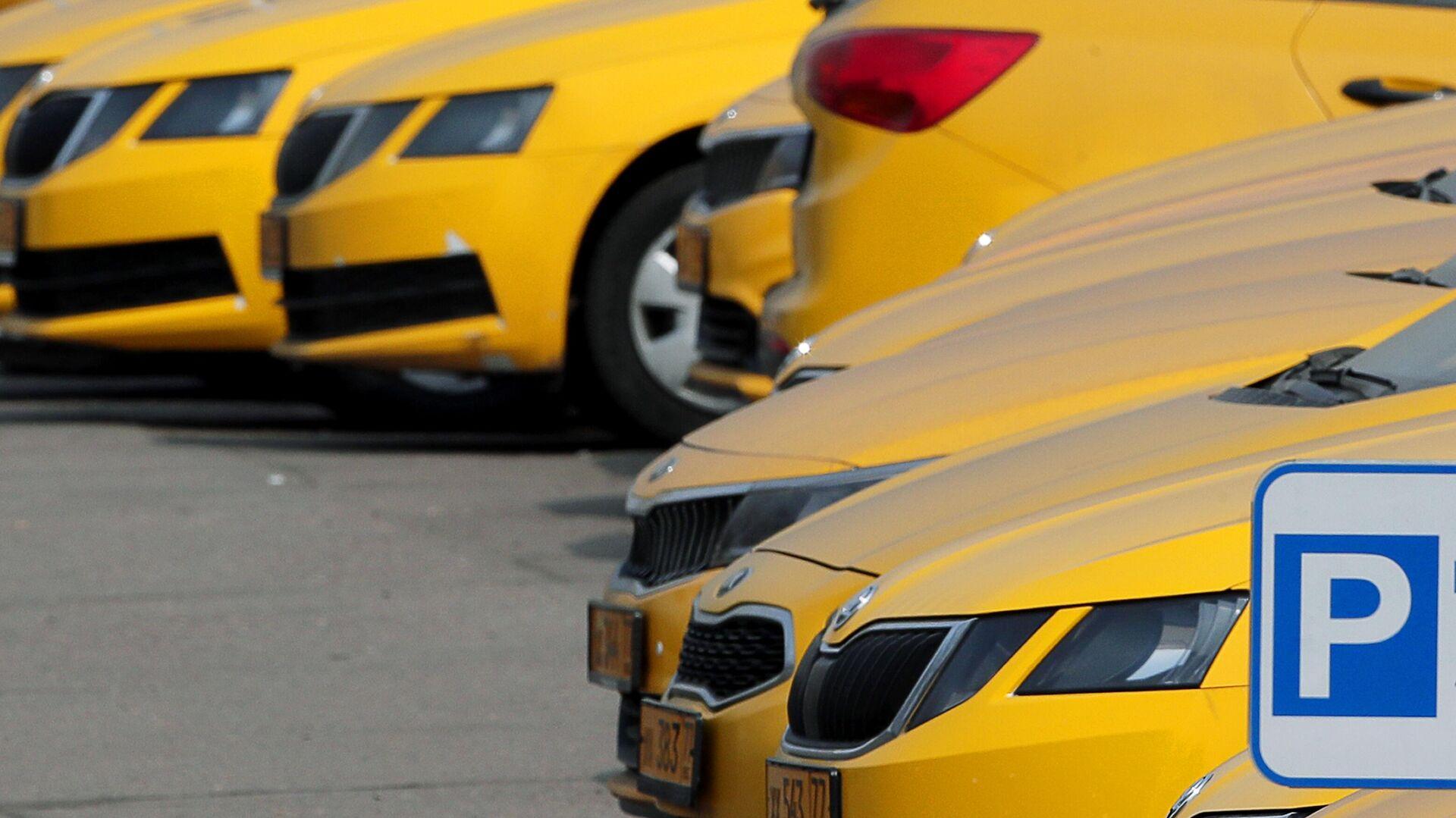 Автомобили службы Яндекс Такси в Москве - РИА Новости, 1920, 24.09.2020