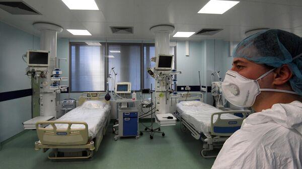 Реанимационное отделение больницы № 15 им. Филатова