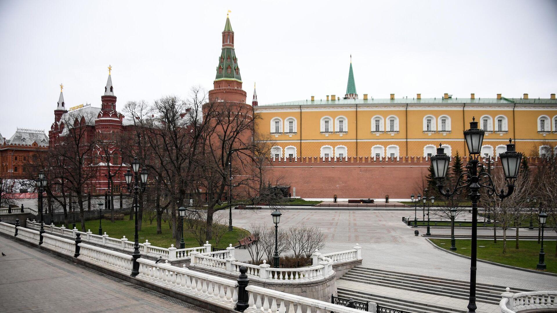 Вид на Александровский сад - РИА Новости, 1920, 02.04.2020