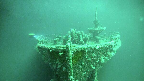 Экспедиция в Черном море по поиску кораблей времен ВОВ