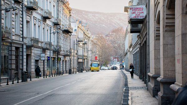 Всеобщий карантин в Грузии в связи с коронавирусом