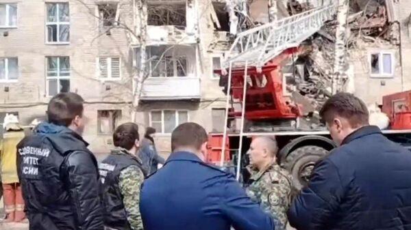 Взрыв газа в жилом доме в Орехово-Зуево