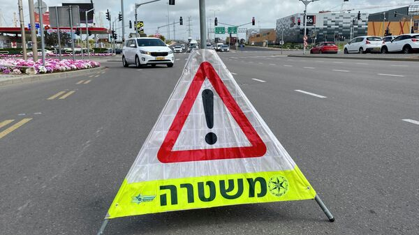 Полицейский рейд по поддержанию карантина в городе Ашдод, Израиль