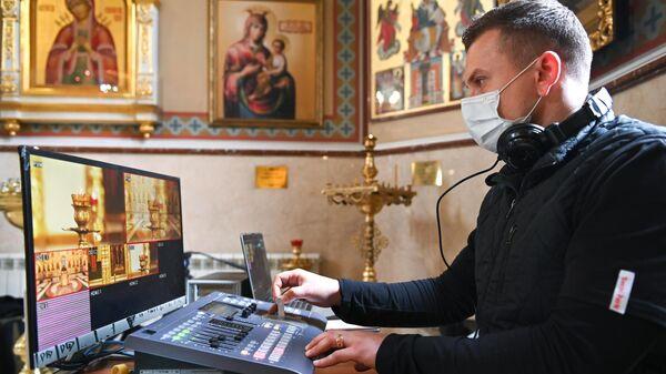 Онлайн-трансляция Божественной литургии в Сочи