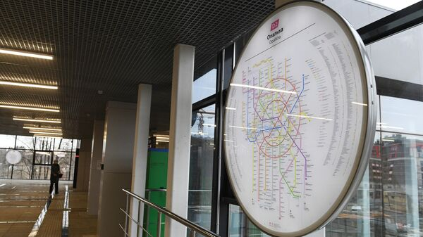 Станция Опалиха после реконструкции в рамках проекта второго Московского центрального диаметра Курско-Рижский