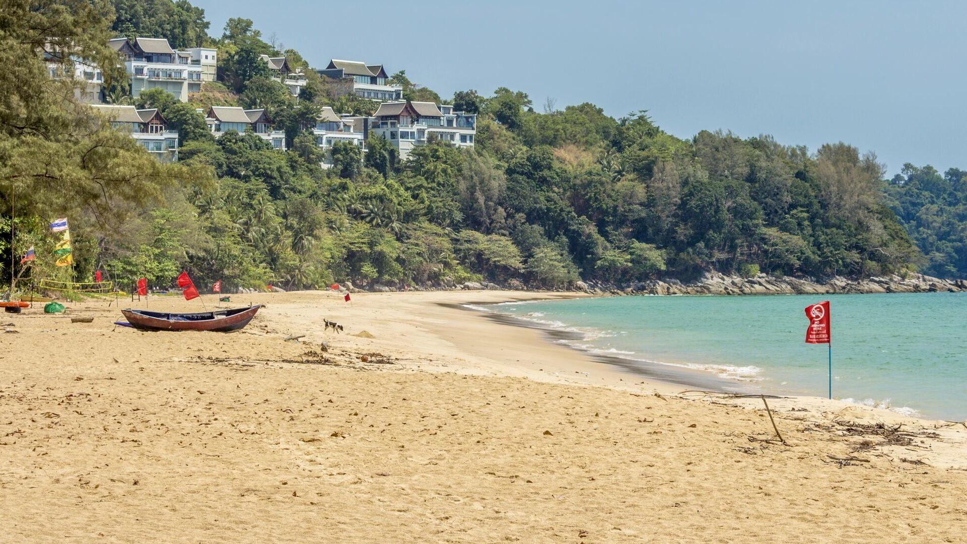 Пляж Найтон на острове Пхукет в Таиланде - РИА Новости, 1920, 03.03.2021