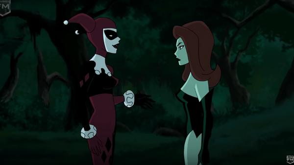 Скриншот анимационного фильма Batman and Harley Quinn