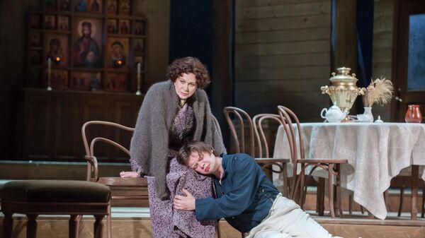Cцена из спектакля Васса Железнова. Первый вариант Малого театра